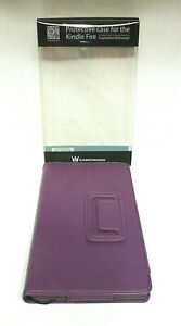 Casecrown Protective Case For The Kindle Fire - NIB - Purple