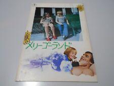 THE LAST SNOW OF SPRINGTIME  1975 Movie Program Book  Japan Renato Cestie