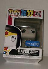 Raven as Wonder Woman #335 Teen Titans: Funko Pop Heroes *Walmart* w/Protector