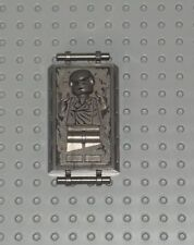Lego Star Wars figure panel han solo en carbonite 87581 de 8097 Slave sw71