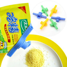 Plastic Sugar Salt Sealing Bag Clamp Discharge Nozzle Food Tube Sealed