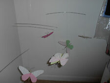 Butterful Hanging Wire Mobile, Pottery Barn for Kids