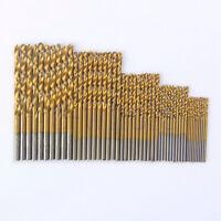 50X beschichtetem Titan HSS HSS Bohrer Set Tool 1/1,5/2/2,5/3MM GE