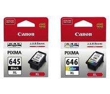 Canon 645/646 XL Black/Tri-Colour Ink Cartridge - 2 Pack