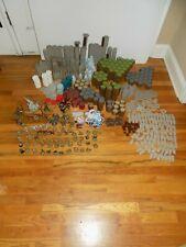 Huge Heroscape Lot: Terrian Tiles, Figures, Cards, Dice, Base Connectors, Wall