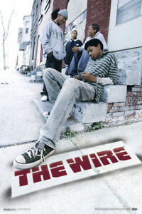 The Wire HBO Television Poster 12x18 inch