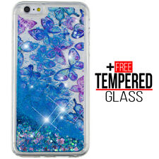 Pour iPhone 6 6S Liquide Glitter Bling Cas Shockproof Cover Soft Silicone Gel