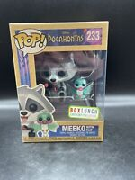 Meeko with Flit #233 Funko Pop! Pocahontas BoxLunch Earth Day Exclusive Mint!