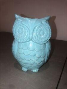 world market glass owl vase