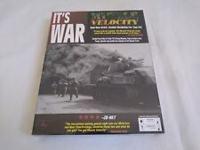 Muzzle Velocity It's War - Vintage PC WWII Combat Game - Rare New Sealed Big Box