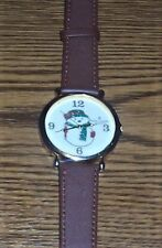 Marie Lourdes Women's Snowman Watch - With New Band - Works