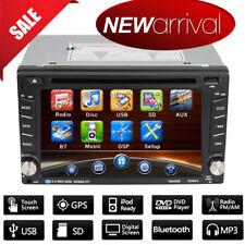 6.2'' 2DIN Auto CD DVD Lettore Stereo Autoradio BT FM USB MP3 Player GPS+Map IT