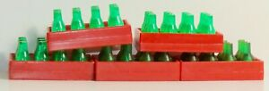 VINTAGE SET OF 5 BUDDY L COCA-COLA BOTTLE CRATES DELIVERY TRUCK PLAY SET