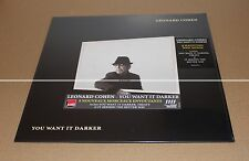LEONARD COHEN - YOU WANT IT DARKER - VINYL LP 2016 - PREMIÈRE EDITION NEUF
