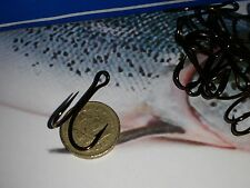 75 X  SALMON PREDATORS DOUBLE Limerick 9508BZ  VMC HOOKS FISHING size 2/0 lure