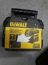 Dewalt Dw08801 50 Ft Cross Line Laser Level Red Laser With Case