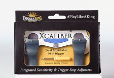 Limited Edition Trigger King Xcaliber PS4 Dual Adjustable Hair Trigger add-on