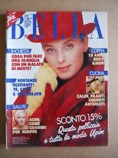BELLA rivista di lavori Femminili n°43 1989  [G582]