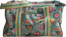 NWT Lily Bloom Lily Zen Weekender Overnighter Duffle Bag Owl Always Love You