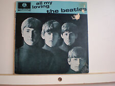 "45 Vinyl Records EP The Beatles ""All My Loving"""