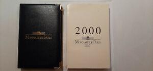 MONNAIE DE PARIS COFFRET BE BELLE ÉPREUVE 2000 - PROOF SET