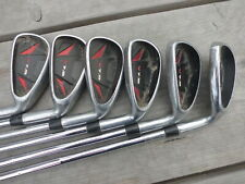 PRE LOVED PROSIMMON V7 GOLF IRONS ~ 6 - SW ~ REGULAR STEEL SHAFTS ~ IDEAL SPARE