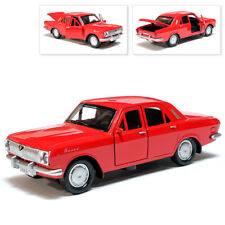 GAZ 24 Volga Metal Model Diecast Car Scale, Collectible Toy Cars, Red, 1/36
