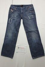 diesel wros boyfriend jeans usato (Cod.D740) Tg.44 W30 L30 donna