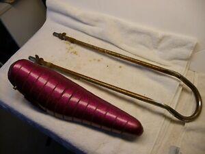 "Vintage Persons Muscle Bike Violet Banana 18"" Seat Sissybar Reflector Used Lot 3"