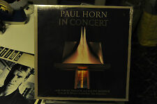 "PAUL HORN IN CONCERT - VINILE - LP - 33 GIRI - 12""  SIGILLATO"