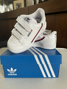 Boys Adidas Originals Continental 80 CF I Trainers - EU 24 (UK 7K) - BNIB