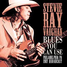 STEVIE RAY VAUGHAN New 2017 UNRELEASED PHILADELPHIA 1987 LIVE CONCERT CD