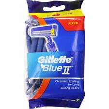 3 x GILLETTE PK16 BLUE II DISPOSABLE RAZORS