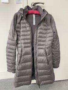 Lululemon Brave The Cold Jacket US Size 4 Grey/lilac