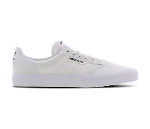 Adidas 3MC White White Gold Unisex Skateboard Shoes