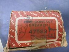 NOS Lucas Contact Breaker / Point Plate Early Twins # 47583 Triumph BSA   LU98