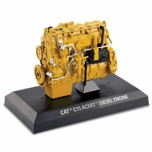 CAT C15 Acert Diesel Engine in Yellow (1:12 scale by Diecast Masters DM85139)