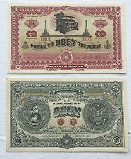 Shepard Fairey Obey deux côtés du capitalisme Bank Note Money Dollar Bill RARE