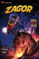 Zagor: 1000 Faces of Fear (2017 Paperback), GN, Capone, Ferri, Rubini