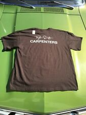 Taylor Swift Local crew tshirt T-shirt tour Concert Speak Now 2011 Carpenters