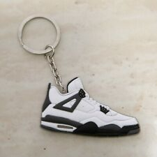 Air Jordan White Cement 4's Sneaker Key Chain