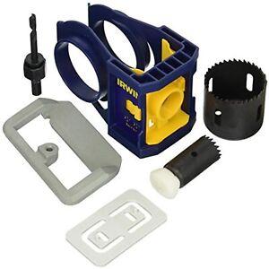 IRWIN Door Lock Installation Kit for Wooden Doors (3111001)