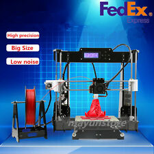 2017 Upgraded Reprap Anet A8 3D Printer MK8 extruder Prusa Mendel DIY Only MAX-G