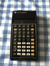 TEXAS INSTRUMENTS TI-58C PROGRAMMABLE CALCULATOR