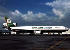 EVA Air Cargo , MD-11 ,  Ansichtskarte