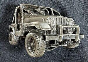 Vintage Jeep Belt Buckle 1978