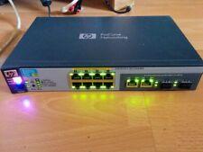 HP Procurve 2520G-8-POE J9298 Switch