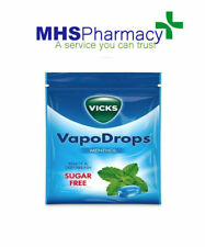 Vicks Sugar Free Menthol Vapo Drops For Cold And Flu 72g