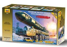 "Zvezda 1/72 Ballistic Missile Launcher ""Topol"" SS-25 ""Sickle"" # 5003"