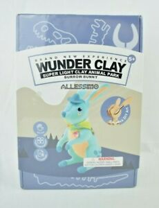 "Allessimo - Wunder Clay ""Burrow Bunny"" Super Light Clay Animal Park DIY (STEM)"